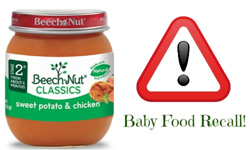 Beech Nut Baby Food Recall Because Of Glass Black Tie And Flip Flops