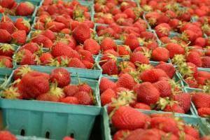 Farmers Market Strawberries