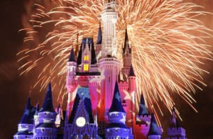 wdw disney magic kingdom fireworks