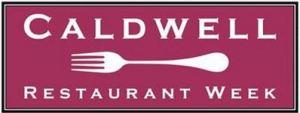 Caldwell Restaurant Week Banner Logo