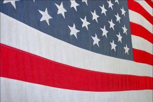 Detail American Flag