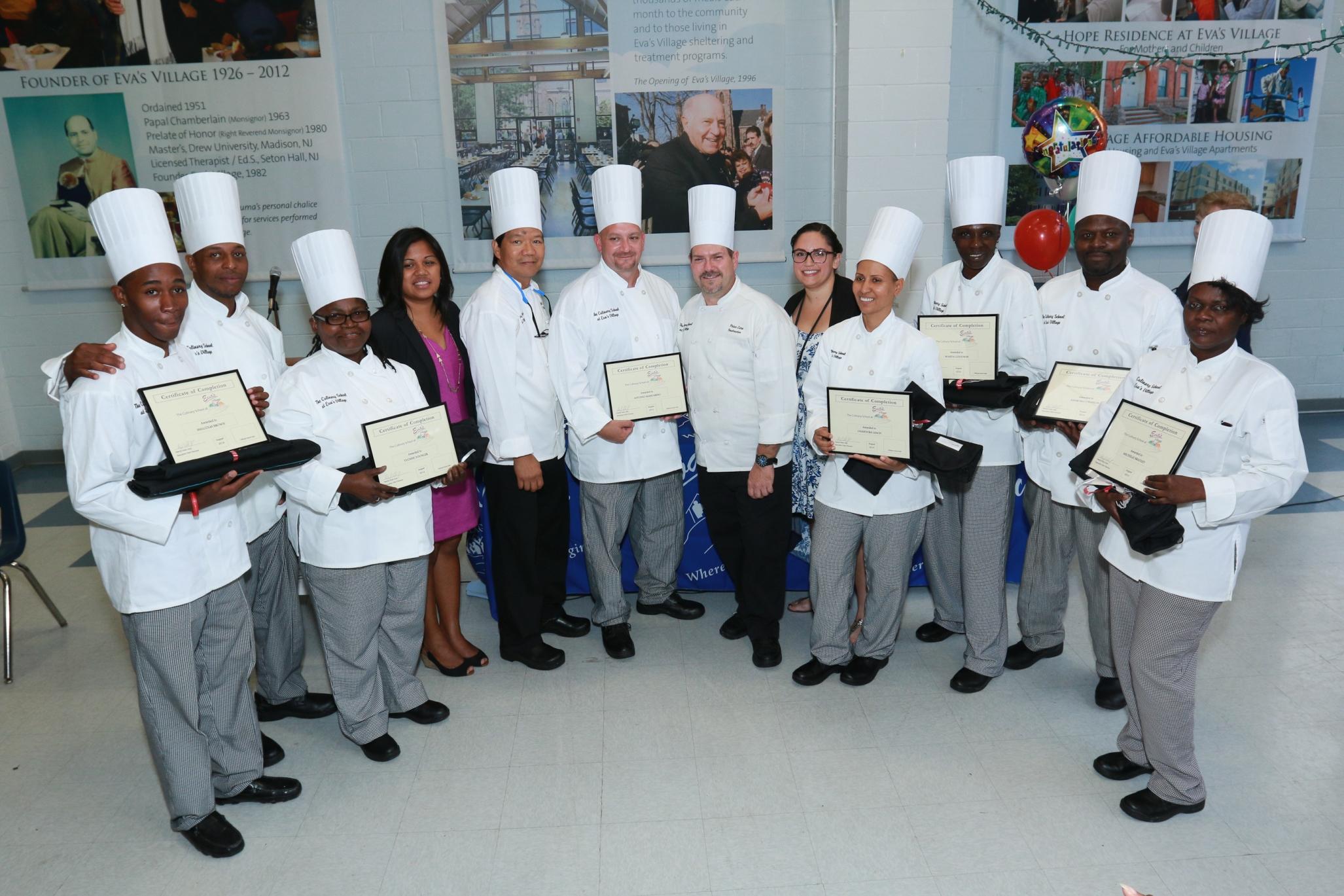 The Culinary School At Eva S Village Celebrates The