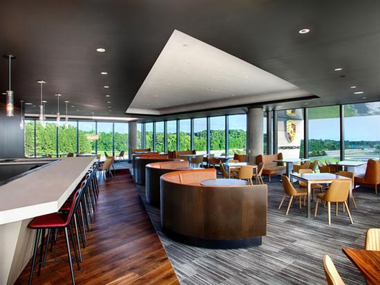 Porsche opens fine dining restaurant at new experience