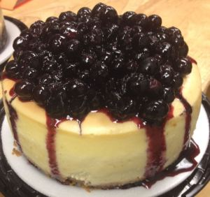Blueberry Cheesecake at @AnthonysCake