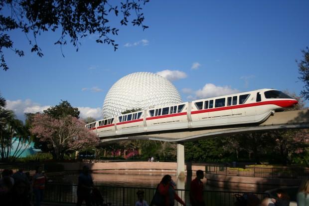 Disney Epcot Monorail 973