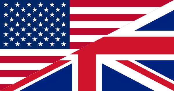 usa uk flag