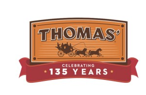 Thomas' 135th Anniversary Logo