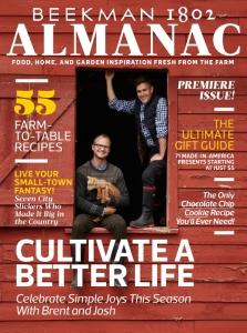 Beekman 1802 Almanac on Newsstands Today!