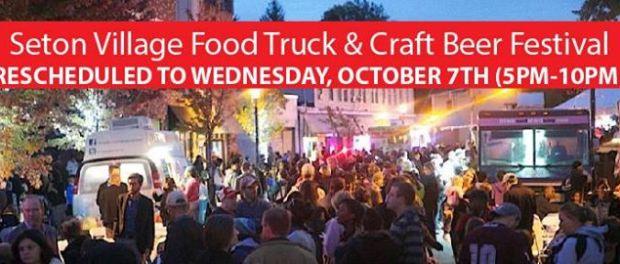 Seton village food truck and craft beer festival october 7 for Food truck and craft beer festival
