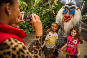 """The adventure, inspired by Disney Junior's animated series """"The Lion Guard,"""" sends guests on an exciting search for the five Lion Guard character statues hidden in themed locations throughout the park. Youngsters learn about animals and the Circle of Life as they follow the Lion Guard Adventure Map. The expedition concludes at Rafiki's Planet Watch with a photo opportunity with Rafiki, as well as a Lion Guard button, special pledge, and fun activities."""
