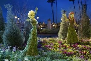 Elsa Anna Frozen Epcot Disney