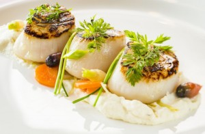 Disney Cruise Palo Scallops