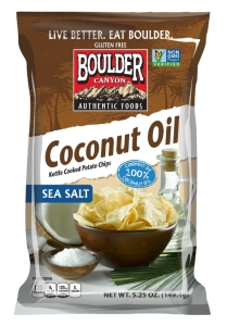 "Boulder Canyon Foods' new Coconut Oil Kettle Cooked Potato Chips named among ""Cleanest Packaged Foods"" by Prevention Magazine"