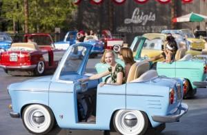 Luigi Cars Disney California Adventure 5