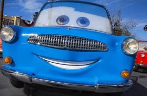 Luigi Cars Disney California Adventure