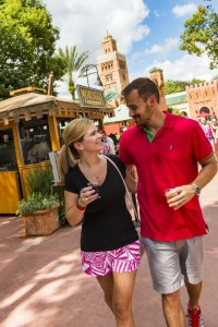 Guests can sample tapas-sized tastes of inventive cuisine at the Morocco Marketplace during the Epcot International Food & Wine (Matt Stroshane, photographer)