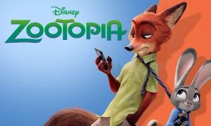 Disney zootopia Pixar poster