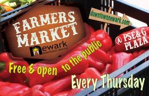Newark Farmers Market PSEG