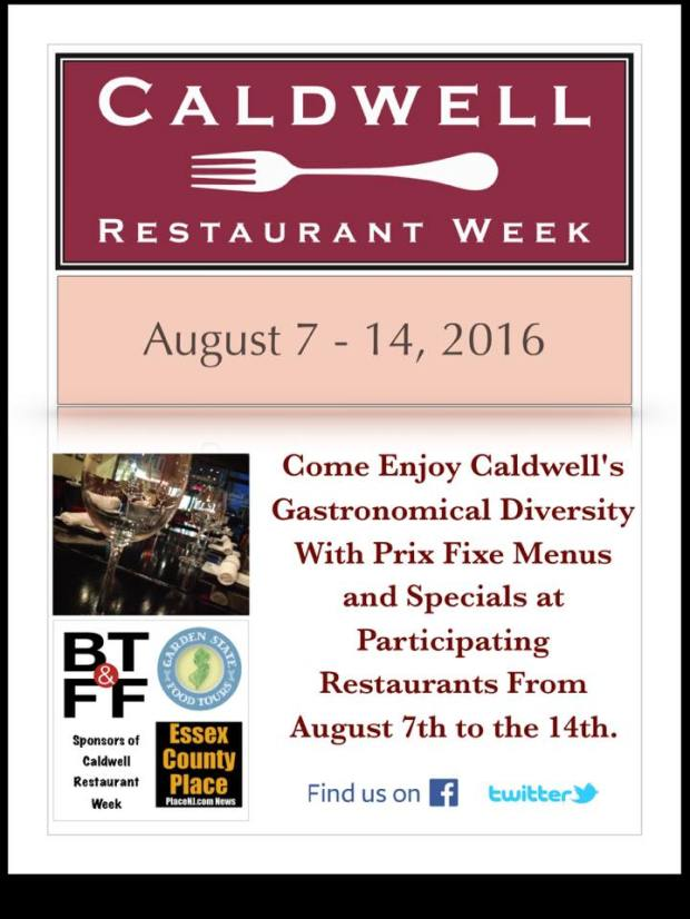 Caldwell Restaurant Week 2016