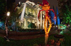 nightmare before christmas disneyland halloween haunted mansion 1